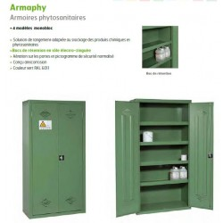 armoire phytosanitaire 1980x1000x450 mm