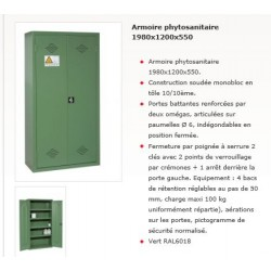 ARMOIRE PHYTOSANITAIRE 1980x1200x550