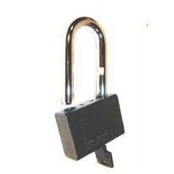 cadenas KX SINGLE extra haute securite diametre 10 mm 63x87x22 mm - 3 cles + carte