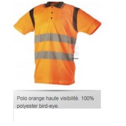 POLO Haute visibilite  ORANGE S A 3XL