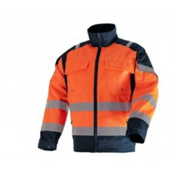 VESTE POLY/COT ORANGE Haute visibilite