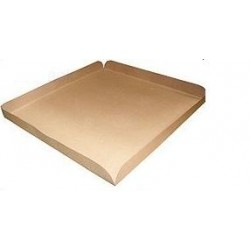 Plaque intercalaire de protection carton double cannelure DD20 kraft 1200x1000 mm