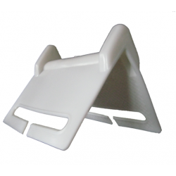 Coin de protection pour sangle  blanc PP