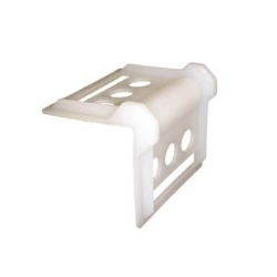 Coin de protection pour sangle blanc PVC